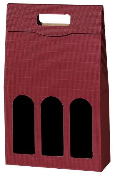 3er Tragekarton Wellebordeaux für 3 x 0.75l