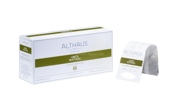 Althaus Grün Matinee 20 Grand-Packs