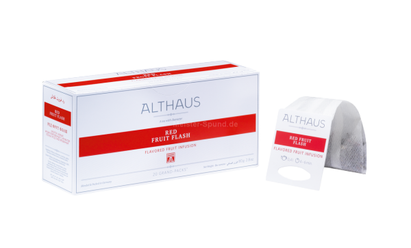Althaus Red Fruit Flash 20 Grand-Packs
