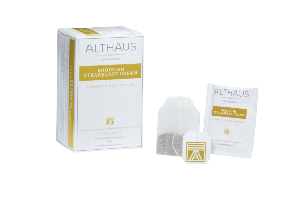 Althaus Rooibush Strawberry Cream 20 Deli-Packs