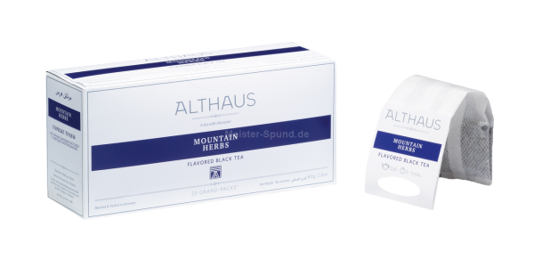 Althaus Mountain Herbs 20 Grand-Packs
