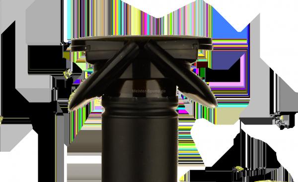 UFO Sekt & Champagnerverschluss schwarz
