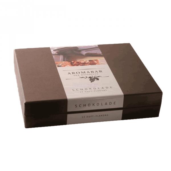 Aromabar Schokolade mit 12 Duft-Flakons