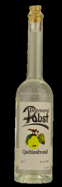 Pabst - Quittenbrand 200ml