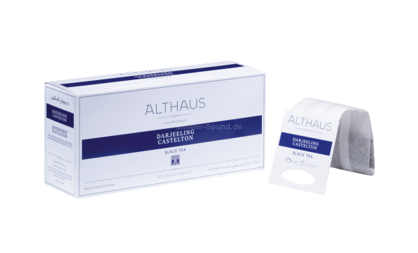 Althaus Darjeeling Castelto 20 Grand-Packs