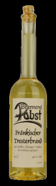 Pabst - Tresterbrand im Holzfass 200ml