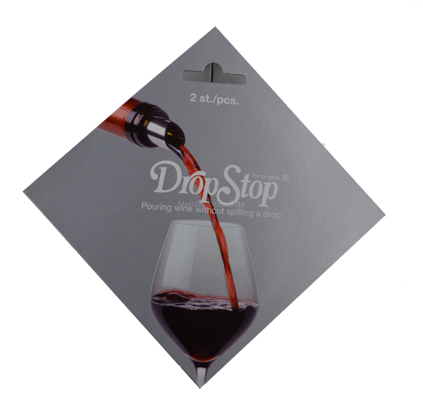 DropStop Weinausgießer (1x2 Stück)