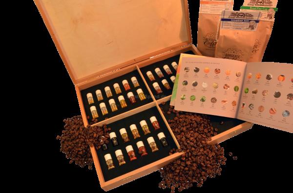 Aromabar Profi - Kaffedüfte 36 Duft-Flakons Kaffee - Aromen