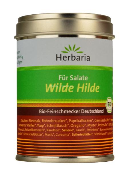 Herbaria Bio Feinschmecker Würzmischung für Salate Wilde Hilde 100g