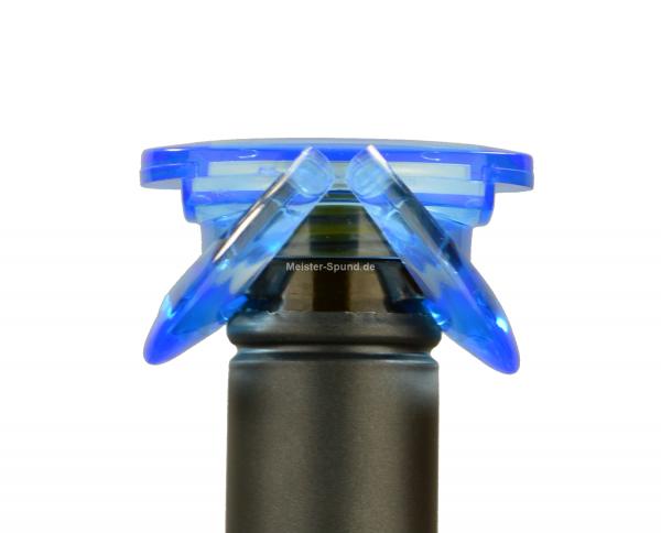 UFO Sekt & Champagnerverschluss blau
