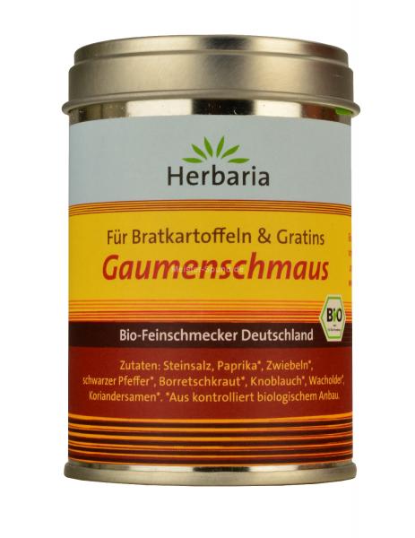 Herbaria Bio Feinschmecker für Kartoffelgerichte Gaumenschmaus 100g