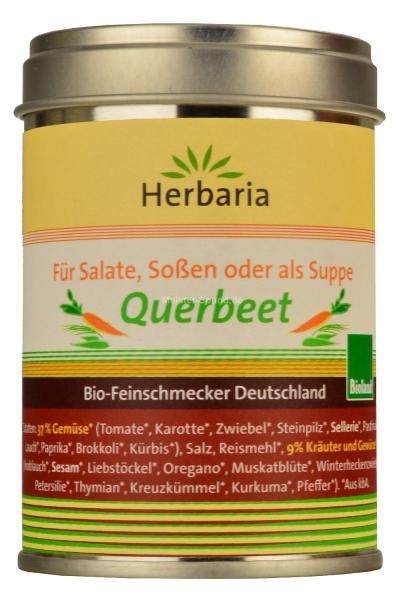 Herbaria Bio Feinschmecker Gemüsebrühe Querbeet 90g