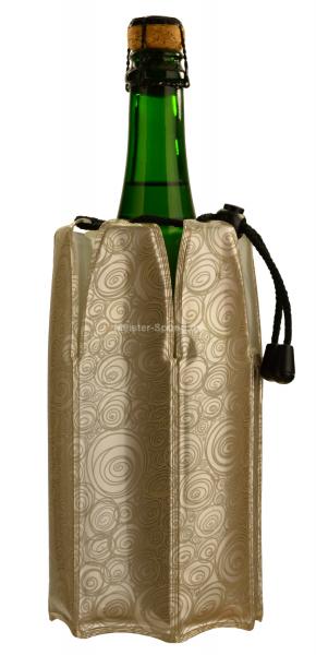 Vacu Vin Kühlmanschette für Champagner und Sekt platinum