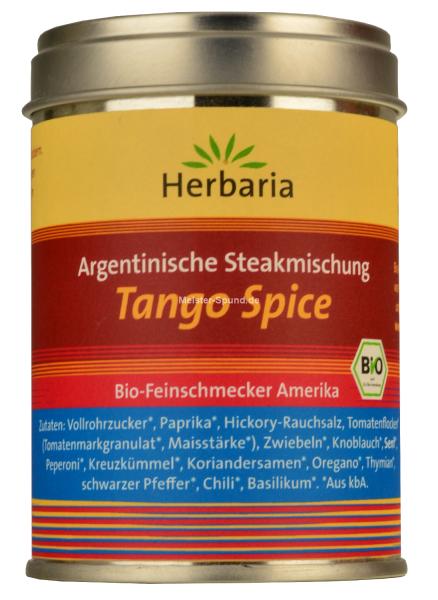 Herbaria Bio Feinschmecker für Fleischgerichte Tango Spice 100g