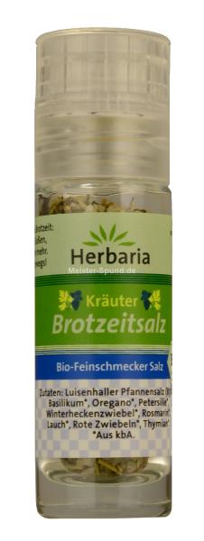 Herbaria Bio Feinschmecker Kräuter Brotzeitsalz 13gr
